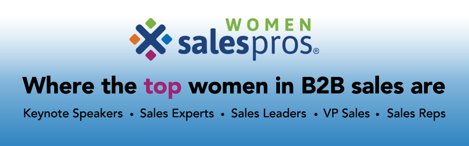 WOMEN Sales Pros top women in B2B sales