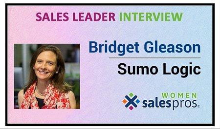 Bridget L Gleason VP Saes Sumo Logic