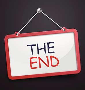 presentation end