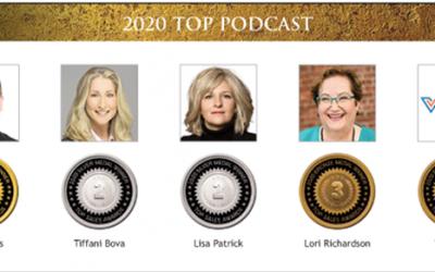 Podcast Won a 2020 Bronze Award!
